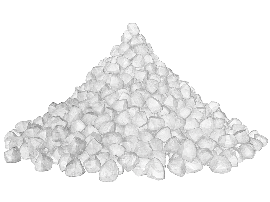 Salt Crystals 3D